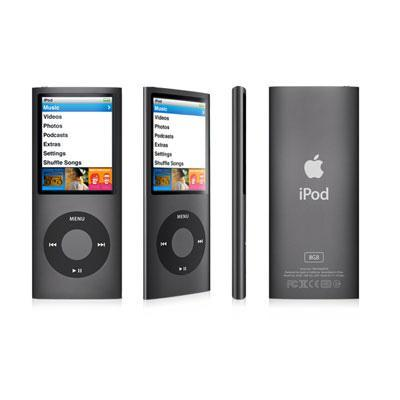 iPod nano 8GB Black (4th Generation)