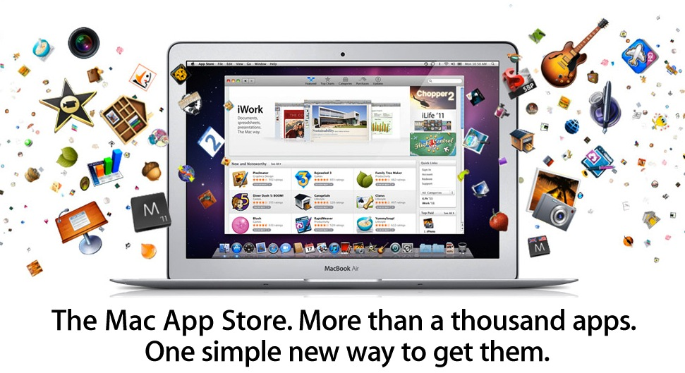 Apple Mac App Store Now Available