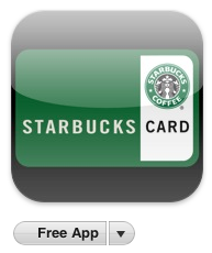 Starbuck's card mobile application